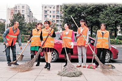 [新聞] 清潔女工掃出幸福路